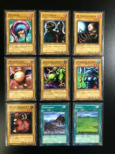 YUGIOH MINT ORIGINAL 1ST EDITION LOB LDB  - LEGEND OF BLUE EYES WHITE DRAGON LOT