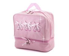 rosa da bambina luccicante BALLETTO DANZA SCARPE BORSETTA Katz Dancewear regali
