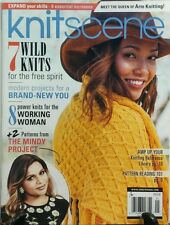 Knit Scene Spring 2017 7 Wild Knits for Free Spirit Projects FREE SHIPPING sb