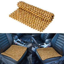 Wooden Bead Seat Cushion Auto Car Home Chair Cover Beaded Seats Covers massages