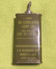 VTG ~ 1952? ~ Military ~ Korean War? ~ Oil Lubricating ~ Light Oil ~ 4 Oz. Tin