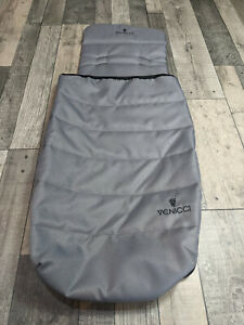 Venicci Carbo - Luxury - Padded Seat Liner and Cosy Toes - Natural Grey Colour