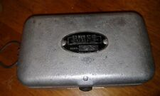Vintage Umco Model P-9 Aluminum Fly or Spinning 2 Sided Fishing Tackle Box Full