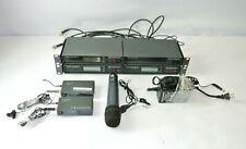 Sennheiser Receiver Ew100 (3), Antenna Splitter Asp1, (1), mics and accessories