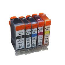 PGI-525 CLI-526 Ink Cartridges for Canon MG8150 MG6150 MG5250 IX6550 IP4850 5PK
