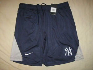 New York Yankees Nike Shorts New W/Tags Orig $45 Men's 2XL NYY MLB Yanks