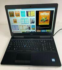 Dell Precision 7510 Laptop - 2.7Ghz i7-6820Hq 16Gb 2Tb Ssd Webcam-Radeon Video