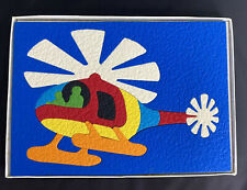 Vintage LAURI Complete Foam Rubber Puzzle Helicopter #2160 Product Homeschool