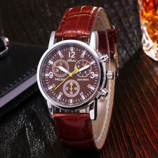 Fashion Men's Classic Watch Stainless Steel Sport Analog Quartz Wristwatches