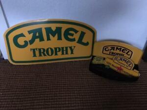 Original Camel Trophy Kravattennadel, Aufkleber, Pin, Aufnäher, Schild - Heinz K