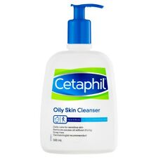 CETAPHIL OILY SKIN CLEANSER 500ML PUMP FACE AND BODY FOR OILY SKIN SOAP FREE