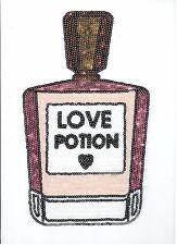 Colorful Love Potion Perfume: Sequin Patch