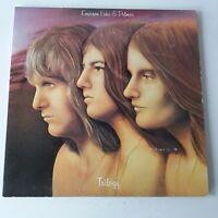Emerson Lake & Palmer ELP - Trilogy - Vinyl LP US 1st Press