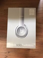 New Beats By Dre Solo2 Wireless On-Ear Headphone - Silver Solo 2 Special Edition
