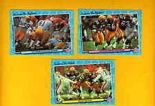 1986 Fleer Action Green Bay Packers Set JIM ZORN JESSIE CLARK TOM FLYNN