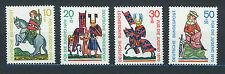 ALEMANIA/RFA WEST GERMANY 1970 MNH SC.B455/B458 Medieval Knights