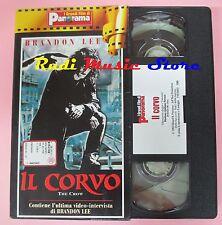 film VHS cartonata IL CORVO Brandon Lee The Cure   PANORAMA 1994 (FP2 * ) no dvd
