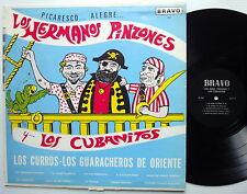 LOS HERMANOS PINZONES Y SUS CUBANITOS Picaresco LP