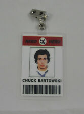 Chuck TV Series ID Badge-Nerd Herd Chuck Bartowski costume prop cosplay