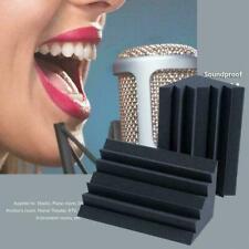 1pc Black 12*12*25 Arrowzoom Corner Bass Trap Acoustic Foam Studio Treatmen X6J3