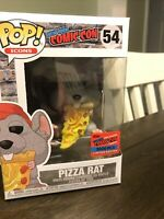 Funko Pop Vinyl Figure AD Icons - Pizza Rat Red Hat #54 Official 2020 NYCC Rare