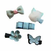 Fashion Cute Hairpin Baby Girl Hair Clip Bow Flower Star For Kids Mini Barr V3P1