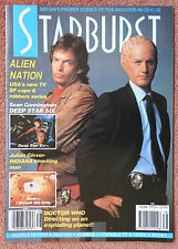 STARBURST FILM MAGAZINE 138 - ALIEN NATION - JULIAN GLOVER - DOCTOR WHO