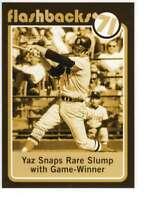 Carl Yastrzemski 2020 Topps Heritage Baseball Flashbacks 5x7 Gold #BF-10 /10 Red