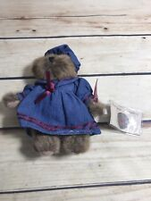"Russ Berrie Vintage Edition 6"" Bear Plush Brown ""Penelope"" Collection #44702"