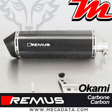Slip-On Exhaust EEC Remus Carbon Okami Honda CRF 1000 L Africa Twin 2017