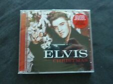ELVIS CRISTMAS 2 ON 1 RARE NEW SEALED CD + HYPE STICKER!