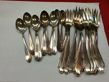 Schönes Besteck WELLNER Eroica 555 90er Silber Auflage 12 Personen 24 Teile