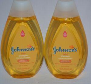 2 JOHNSON'S JOHNSON & JOHNSON JJ BABY SHAMPOO NO MORE TEARS GENTLE TO EYES 13.6