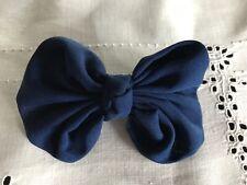 Blue Bow Hair Barrette