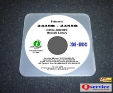 Tektronix Tek 2445b Operatorsservicegpiboptions Cd Hi Resolution Manuals Cd