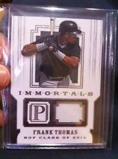 "FRANK THOMAS 2016 PANTHEON ""IMMORTALS"" GAME-USED HOF JERSEY PATCH /99! BIG HURT!"