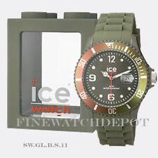 Authentic Ice Winter Green Leaf Big Watch SW.GL.B.S.11