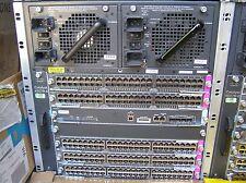 Cisco Catalyst WS-C4507R-E Switch  WS-X45-SUP7-E, 5x WS-X4548-GB-RJ45V