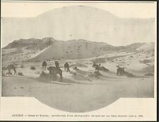 Algeria sahara desert dunes image 1901