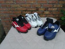 Mizuno:Size 16 (9-Spike) Baseball Metal Cleats/Shoes G3 Mid NEW -Chose Color