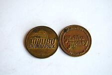 Pair of Malibu Money Tokens