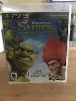 Shrek Forever After: The Final Chapter (Sony PlayStation 3, 2010) Complete