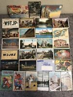 Lot of Assorted Vintage Postcards-Risque-Funny-Places-Radio
