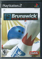 🔥🔥🔥 Brunswick Pro Bowling (Sony PlayStation 2, 2007) (w/ Manual) 🎮🎮🎮
