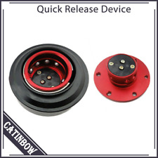 Universal Ball Bearing Car Steering Wheel Quick Release Hub Adapter Boss Kit