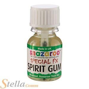 Snazaroo Spirit Gum Glue Halloween Special FX Adhesive Fake Wounds Scars Skin
