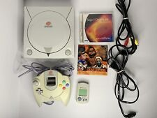Sega HKT-3020 Dreamcast Game Console with Controller - Power Cords - Handheld