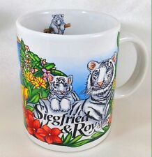 Siegfried & Roy At The Mirage Las Vegas Coffee Mug Cup Siberian Tigers Souvenir
