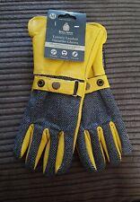 Kent & Stowe (M) Luxury Leather Gauntlet Gloves