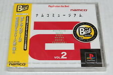 Namco Museum Vol. 2 PlayStation The Best PS1 PSOne Japan JPN * Brand New Sealed